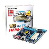 GIGABYTE Motherboard Socket LGA1155 [GA-H61M-S2P] - Motherboard Intel Socket LGA1155